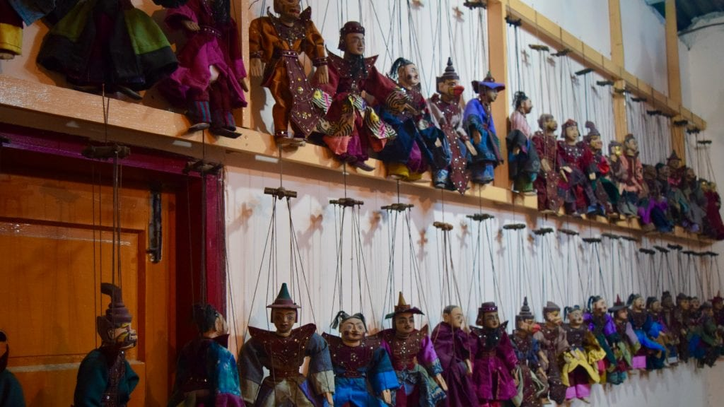 Puppet Characters of Aung
