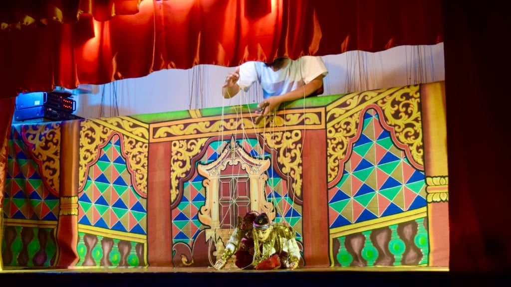 Puppetry in Inle - Things to do in Inle Lake