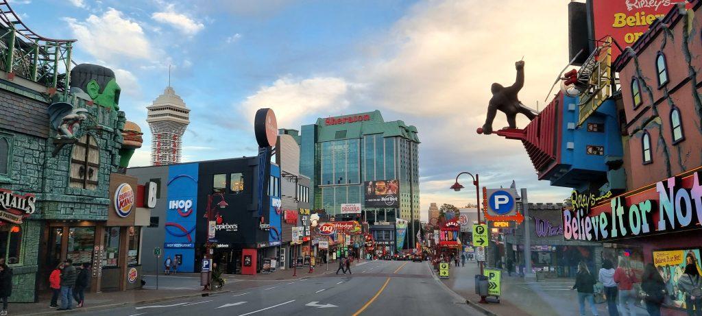 Town of Niagara in Canada